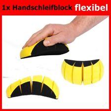 Schleifklotz Handschleifblock flexibel biegsam für 150mm Schleifscheiben