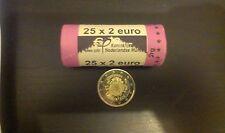 Lussemburgo 2 EURO 2012 - giro decennale dell'EURO rotolo da 25 pezzi
