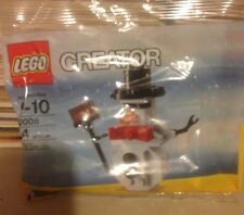 2010 LEGO Creator Snowman Christmas Holiday 30008 polybag SEALED stocking