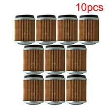 10x Oil Filter For Yamaha YFM350FW YFM350FX YFM400 YFM400FW