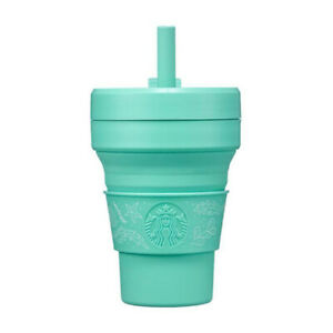 Starbucks Korea 2021 Stojo Anniversary Mint Tumbler 473ml