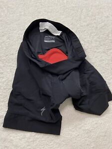 SPECIALIZED Black Cycling RBX Padded Shorts Mens XL