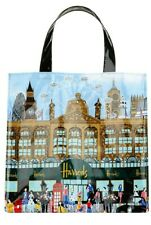 HARRODS Small London Landmarks Shopper PVC Tote Bag BRAND NEW WITH TAG RRP £25
