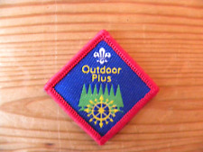 UK Scouting Scout Discontinued Challenge Award (Outdoor Plus)