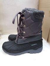 Pavers Mujer Spir 24000-Resistente Al Agua Clima Boot-Negro/Gris-UK 6