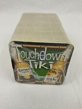 Corona Touchdown Tiki Beach Football League Coasters Set of 100 - Brand New