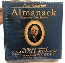 New listing Poor charlies almanack Expanded Third Edition By Wareen Buffet