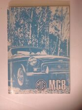 Original NOS 1973 MGB Owners Manual In FRENCH!!