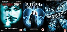 Butterfly Effect Complete All Movies Trilogy Film Collection DVD Part 1, 2 + 3