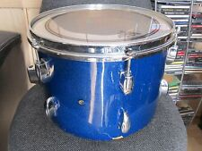 "VINTAGE PEARL STAR 13"" X 9"" TOM BLUE SPARKLE ORIGINAL HARDWARE JAPAN W/HEAD"