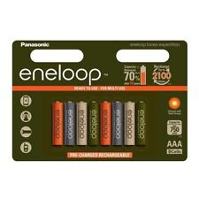 8 PILES ACCU ENELOOP RECHARGEABLE AAA LR03 1.2V 750mAh Ni-Mh BATTERY BATTERIE