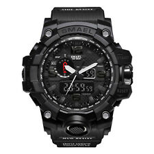 SMAEL Men's Army Military Watches Shock-Proof Analog Quartz Digital Wristwatches