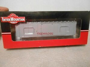 InterMountain Undecorated 5277 Cu Ft Boxcar Kit in Box HO #111
