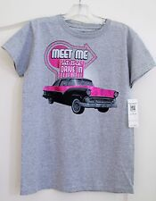 JH Design Group Women's Ford meet me Drive In Tee Shirt Small official product