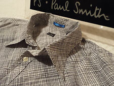 "PAUL SMITH Mens Shirt 🌍 Size XL (CHEST 46"") 🌎 RRP £95+ 🌏 IRREGULAR CHECKS"