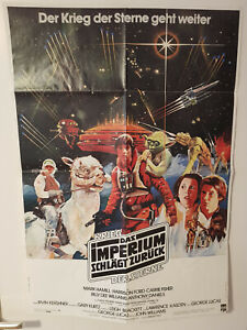Krieg der Sterne Das Imperium schlägt zurück Star Wars Poster Plakat 1980 DIN A1