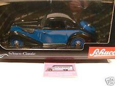 1/18 Schuco BMW 327 Coupe Noir/Bleu 00021