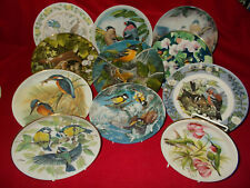 BIRD THEMED COLLECTORS PLATES VARIOUS ISSUERS - SELECT PLATE