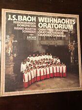 `BACH, J. S.`-WEIHNACHTS-ORATORIUM  VINYL LP Vintage
