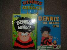 vintage comic annuals beano dennis the menace