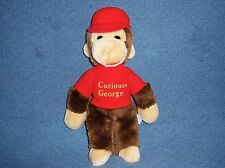 Curious George 1984 Eden Stuffed Plush Doll Toy Book Monkey VTG Animal Figure 80