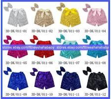 10 wholesale sequin shorts,baby shorts,infant toddler shorts U pick colors sizes