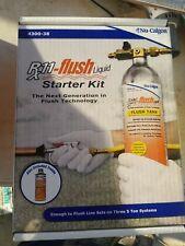 Nu-Calgon 4300-08 Rx11 Flush Starter Kit FREE PRIORITY SHIPPING NEW IN MFG BOX!!