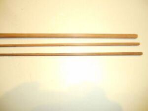Vintage browntone bamboo fly rod building blank. 7-1/2' - 2 pc. - 5 wt. Maker?
