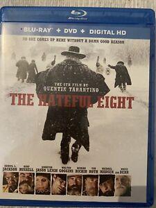 The Hateful Eight (Blu-ray/DVD, 2016, 2-Disc Set, Includes Digital Copy...