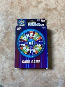 Endless Games Wheel of Fortune Card Game #881 ~ NEW