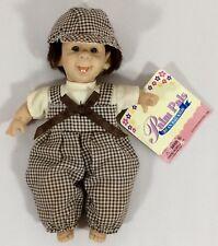 "Collector's Gigo Happy Kids Palm Doll Bean Bag Boy Expression 8"" New Vtg 1996"