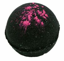 Bath Bomb Black Cherry Bomb 5.5 oz w Kaolin Clay & Coconut Oil