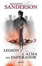 LEGIÓN Y EL ALMA DEL EMPERADOR by Brandon Sanderson (2014, Paperback)