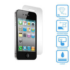 100% Real TEMPERED GLASS FRONT BACK SCREEN PROTECTOR FOR APPLE IPHONE 4/4s