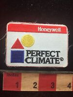Vtg AS-IS (no border) HONEYWELL PERFECT CLIMATE Advertising Patch C761