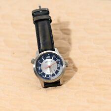 orologio Sector oversize blu, corona per ghiera ore 10. Oggetto usato