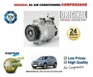 FOR MERCEDES ML 280 320 420 CDi 2005-2009 OE AC AIR CONDITIONING COMPRESSOR