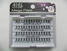 (LOT OF 72) Ardell MEGA Knot-Free Flares MEDIUM Individual eyelashes -NEW-