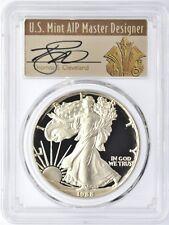 1988-S $1 Proof Silver Eagle PR70 PCGS Thomas Cleveland Art Deco