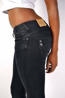 Brilliant Herrlicher Piper Slim Jeans DB840 Tempest Black New