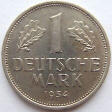 TOP! 1 DM 1954 G in VORZÜGLICH+++ SELTEN !!!