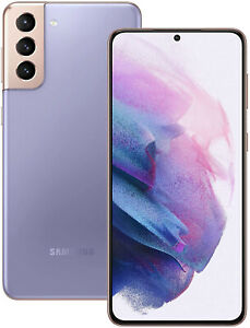 New Samsung Galaxy S21+ Plus 5G 128GB Violet SM-G996B Sim Free Unlocked UK