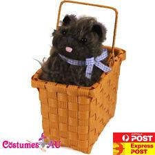 Wizard of Oz Dorothy Toto in Basket Wonders Dog Halloween Costume Accessories