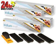 Mirka 70x198mm Sanding Block Kit + 4 Boxes of Iridium 70x400mm Perforated Strips
