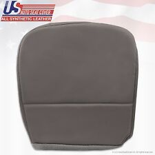 2008-2010 Ford F250 F350 F450 F550 XL Driver Side Bottom Vinyl Seat Cover Gray