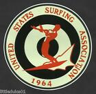 1964 UNITED STATES SURFING ASSOC. Surfboard Sticker Decal LONGBOARD Surfing