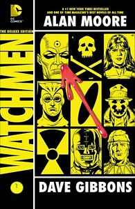 WATCHMEN Deluxe Edition Hardback w/ Dust Sleeve 2013 400+ pages