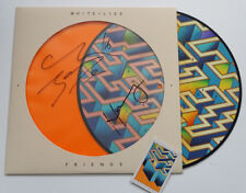 WHITE LIES Signed FRIENDS LP PICTURE DISC Rare limited Fan Club LOSE MY LIFE