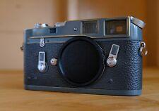 Leica M4 35mm Rangefinder Film Camera - custom gray color, fresh CLA