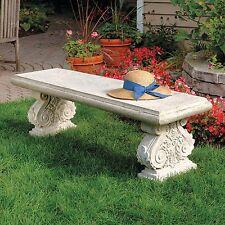 NE70403 - Cambridge Yard Architectural Garden Bench - European Garden!